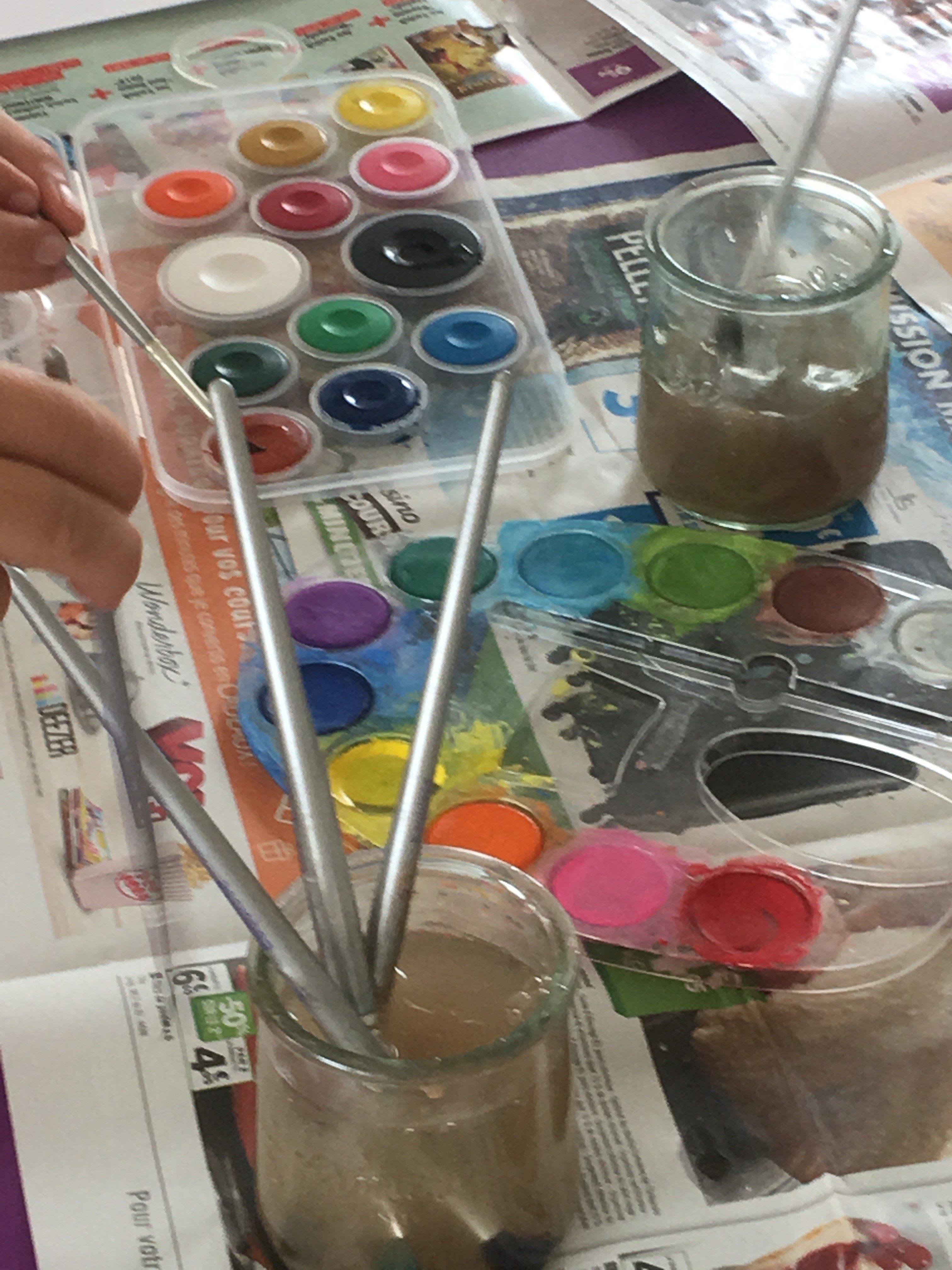 Peinture chez Lire & délire !